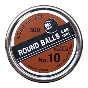 Diabolo Round Balls no. 10