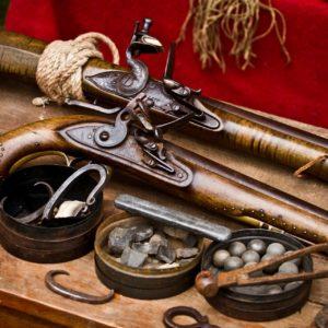 Zbraně křesadlové a perkusní - volně prodejné od 18-ti let
