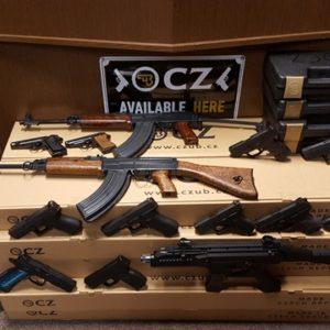 Zbraně na zbrojní průkaz